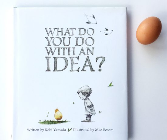 What do you do with an idea book cover