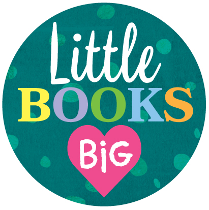 Little Books with Big Hearts logo