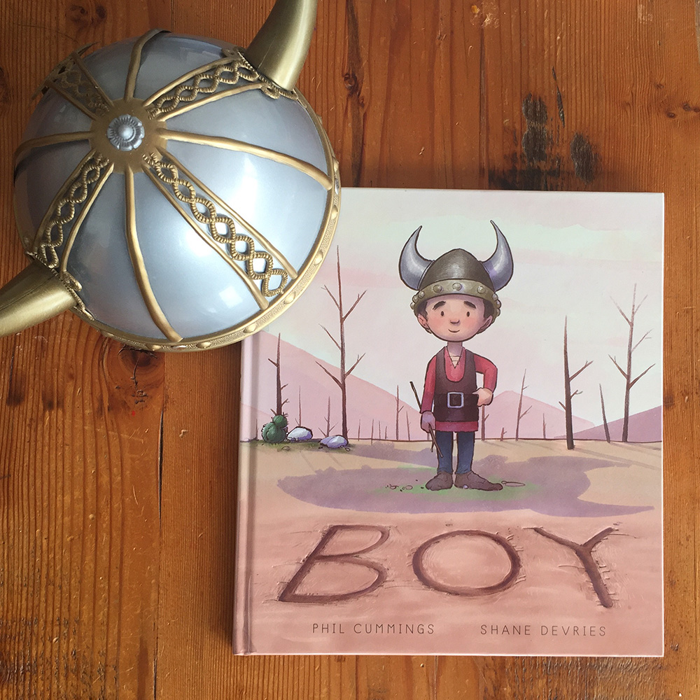 Boy Picture book cover