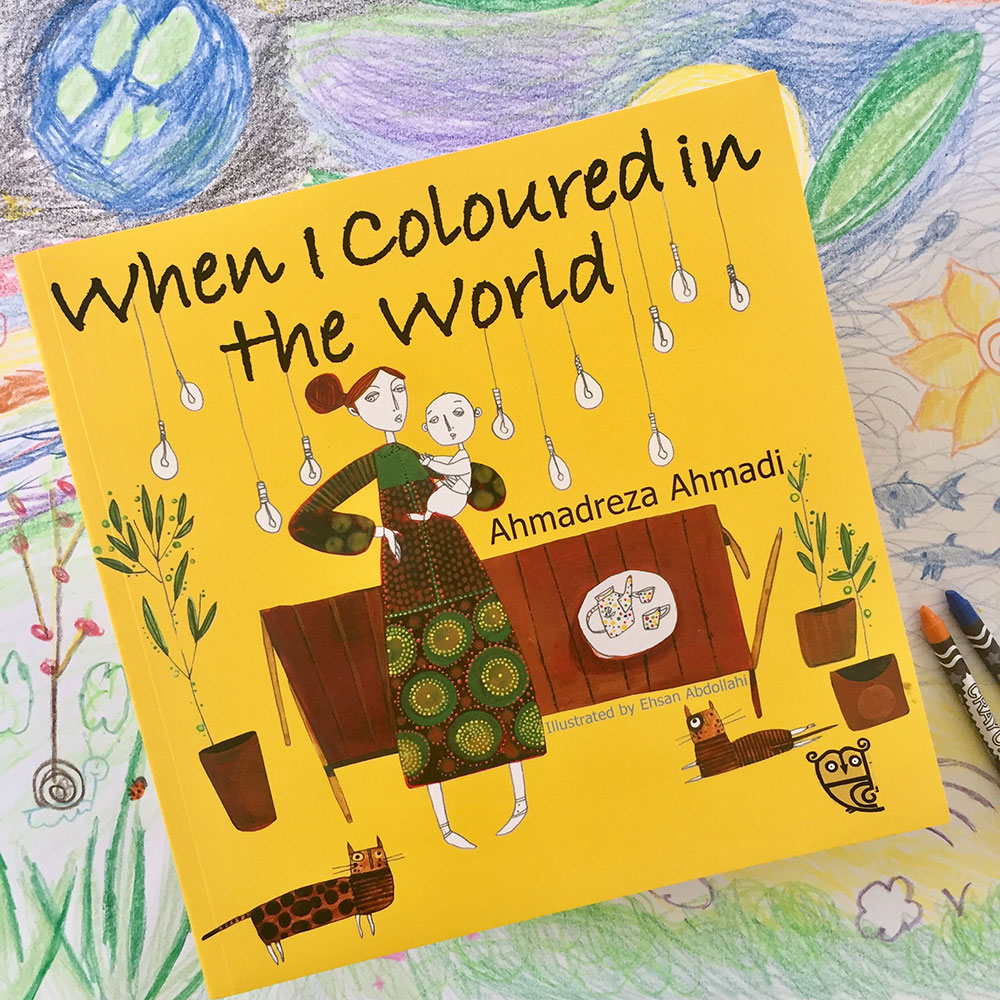 When I Coloured in the World book cover